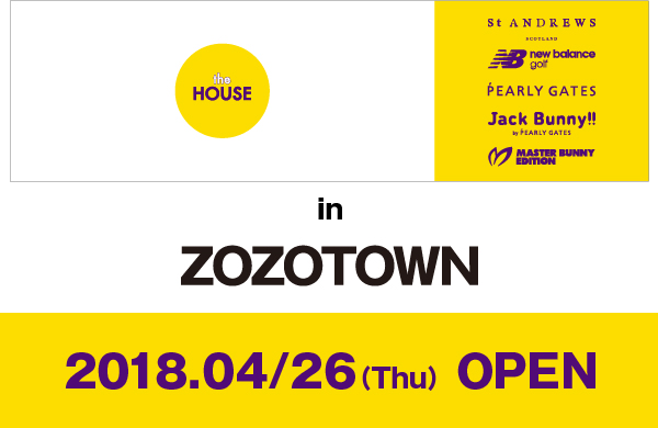 ZOZOTOWN 4/26(Thu) NEW OPEN!!